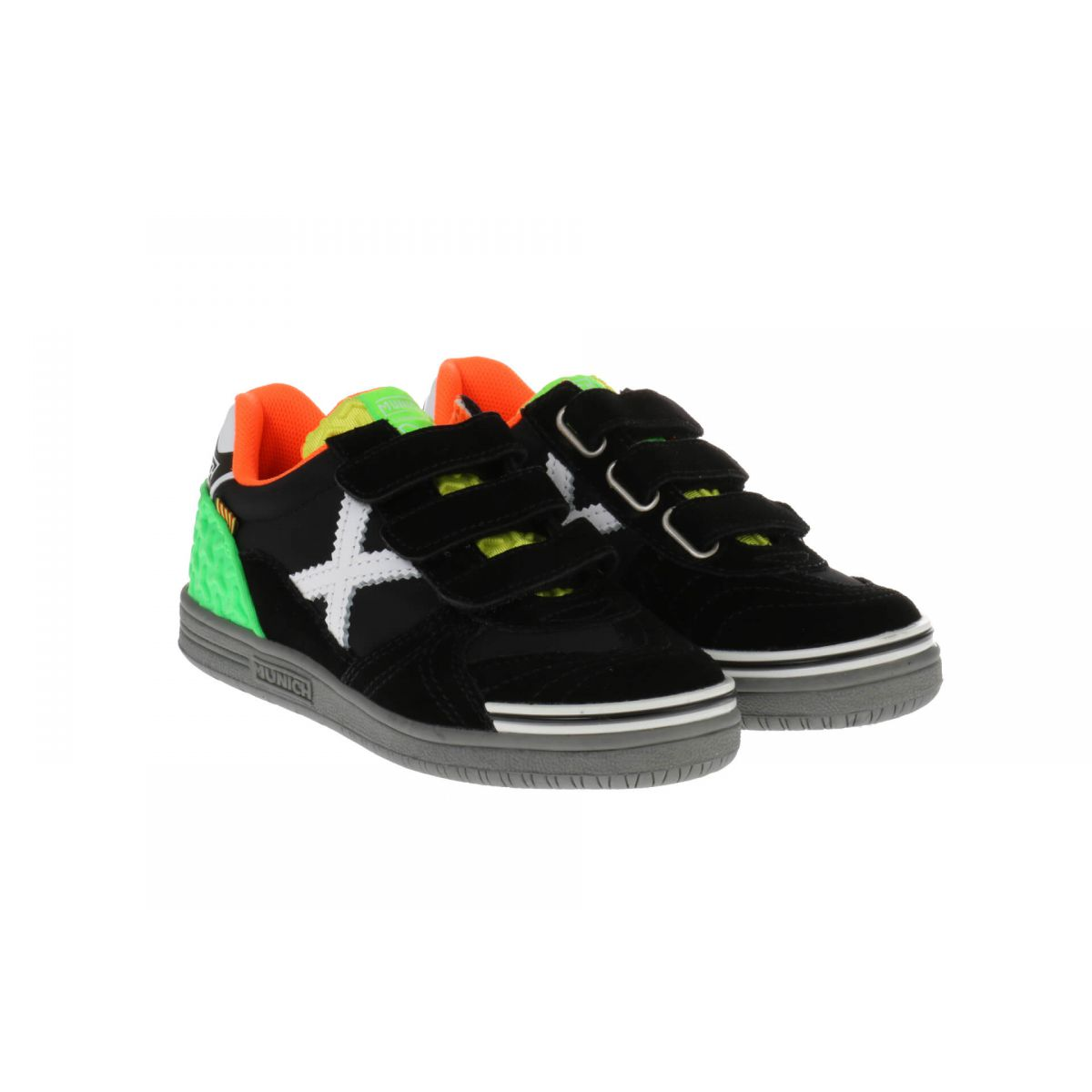 Munich 1514 051 Black Fluor Green