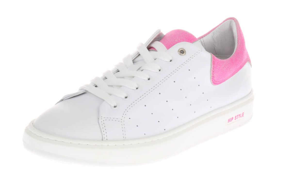 HIP D1928 Sneakers Wit Roze