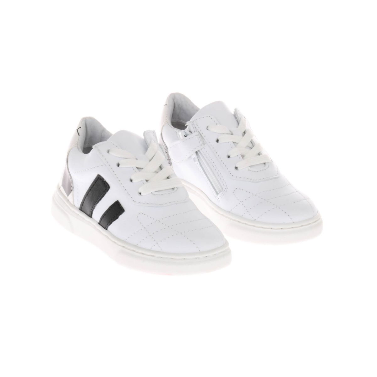 Pinocchio P1322 Voetbal Sneakers Wit