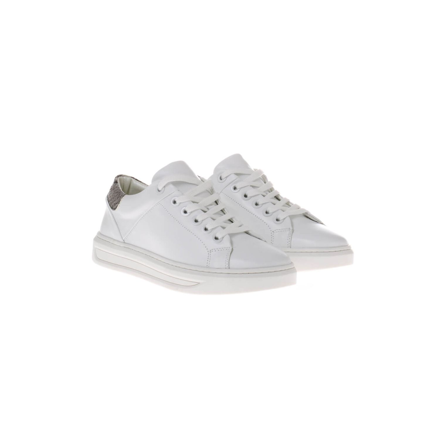 HIP D1506 Sneakers Wit Python