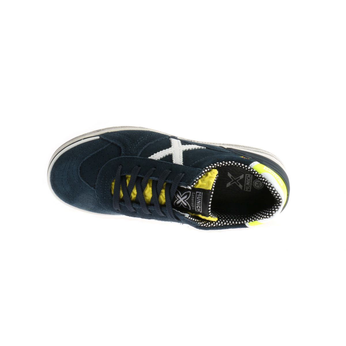 Munich G3 Sneakers Blauw Veters