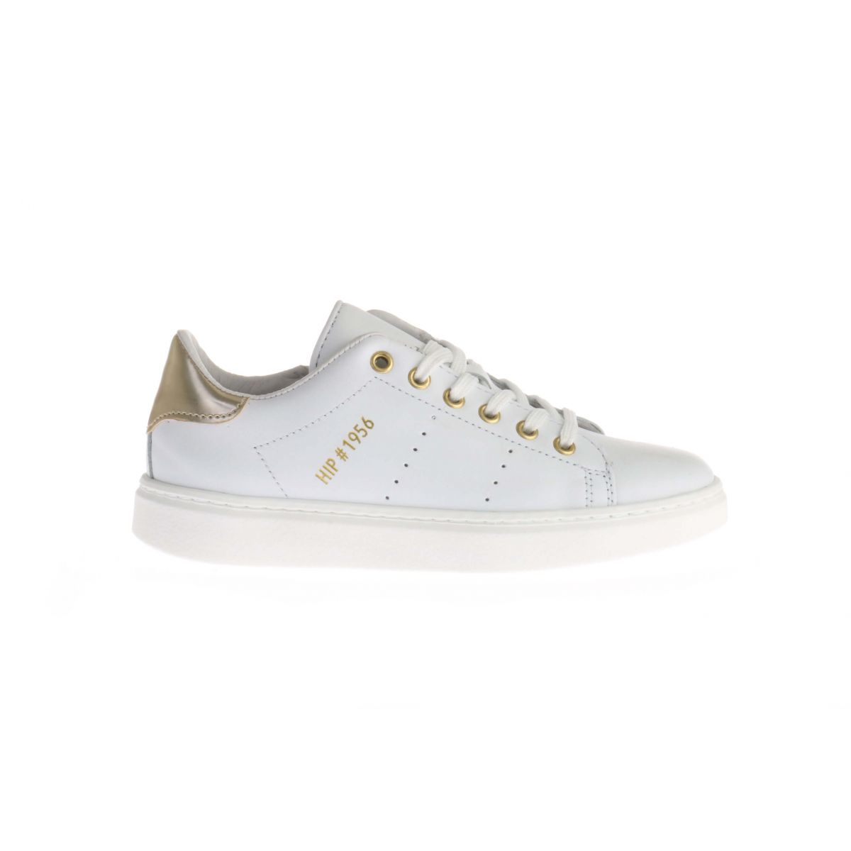 HIP H1108 Sneakers Wit/Goud