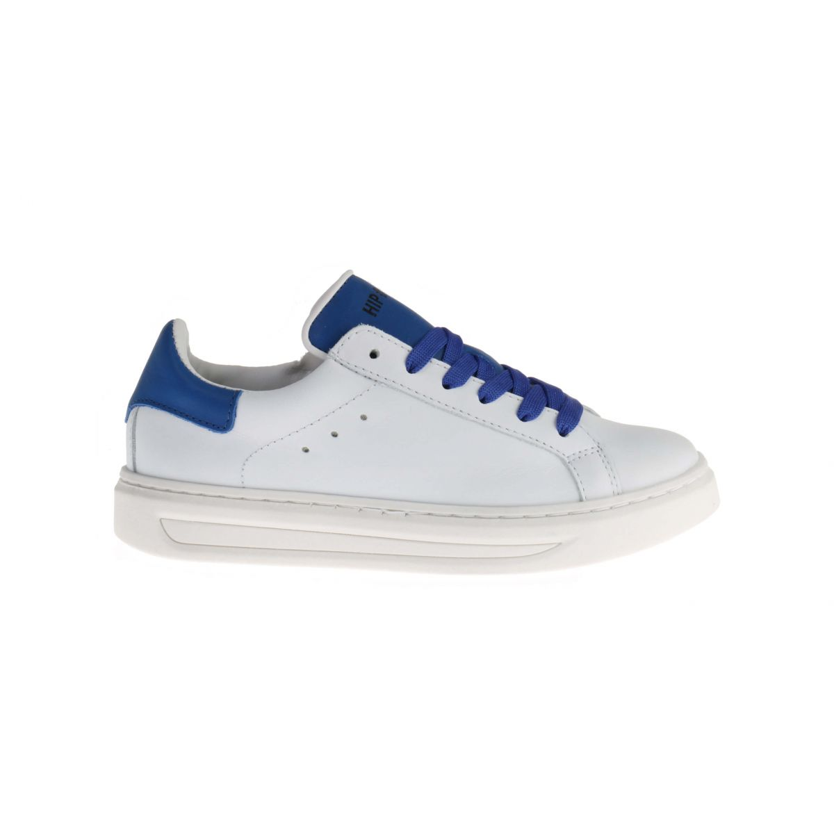HIP H1690 Sneakers Wit Blauw