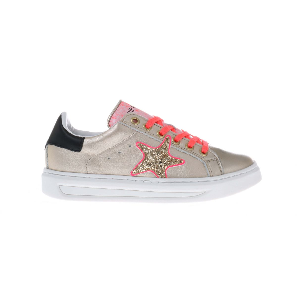 HIP H1790 Sneakers Goud Roze