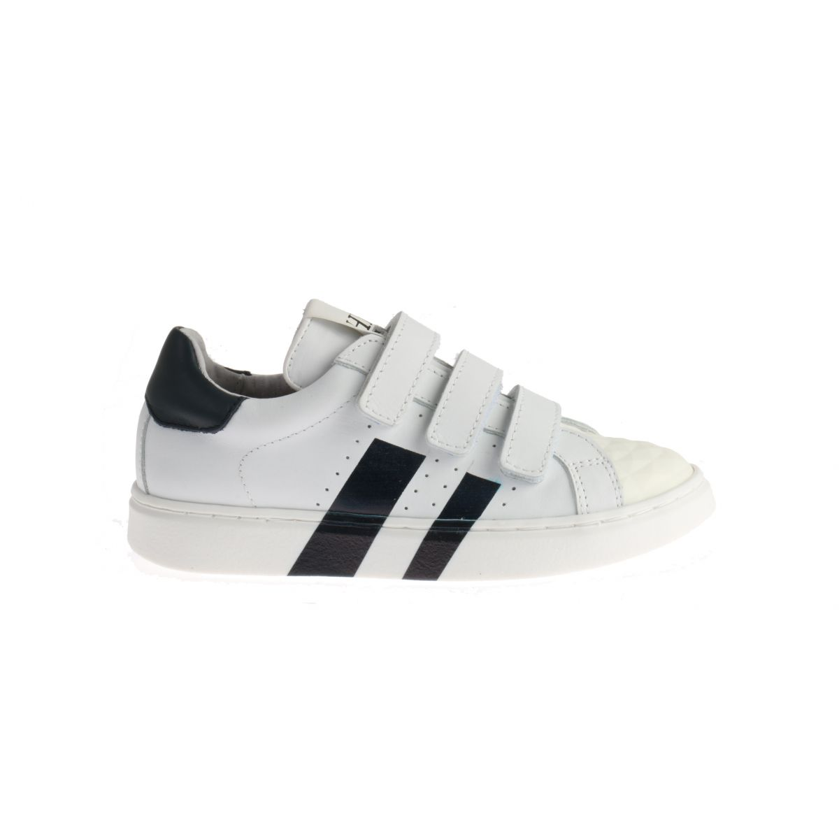 HIP H1794 Sneakers Blauw Striped