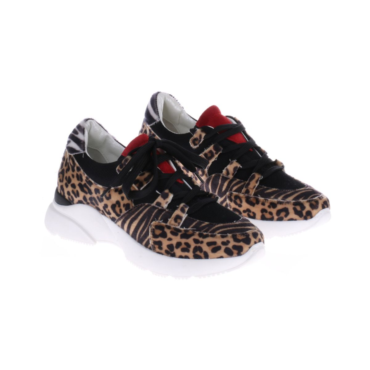 HIP Donna D1891 Sneaker Panter- En Zebraprint