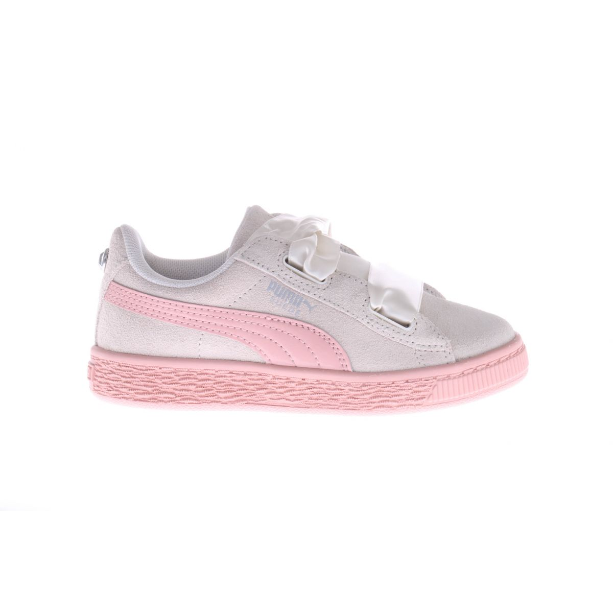 Puma Heart Jewel Sneaker striklint wit roze