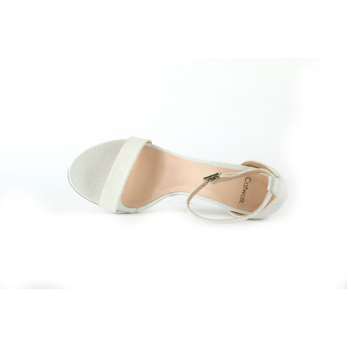 Witte Catwalk Movie Sandalen
