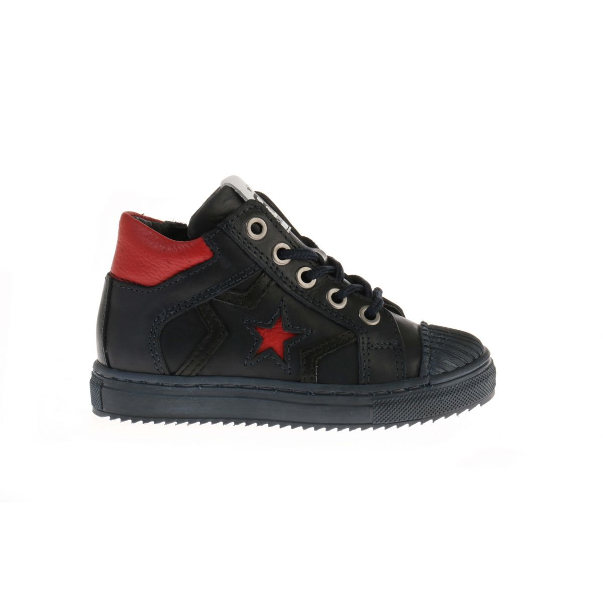 Pinocchio P1581 Sneakers Blauw/Rood