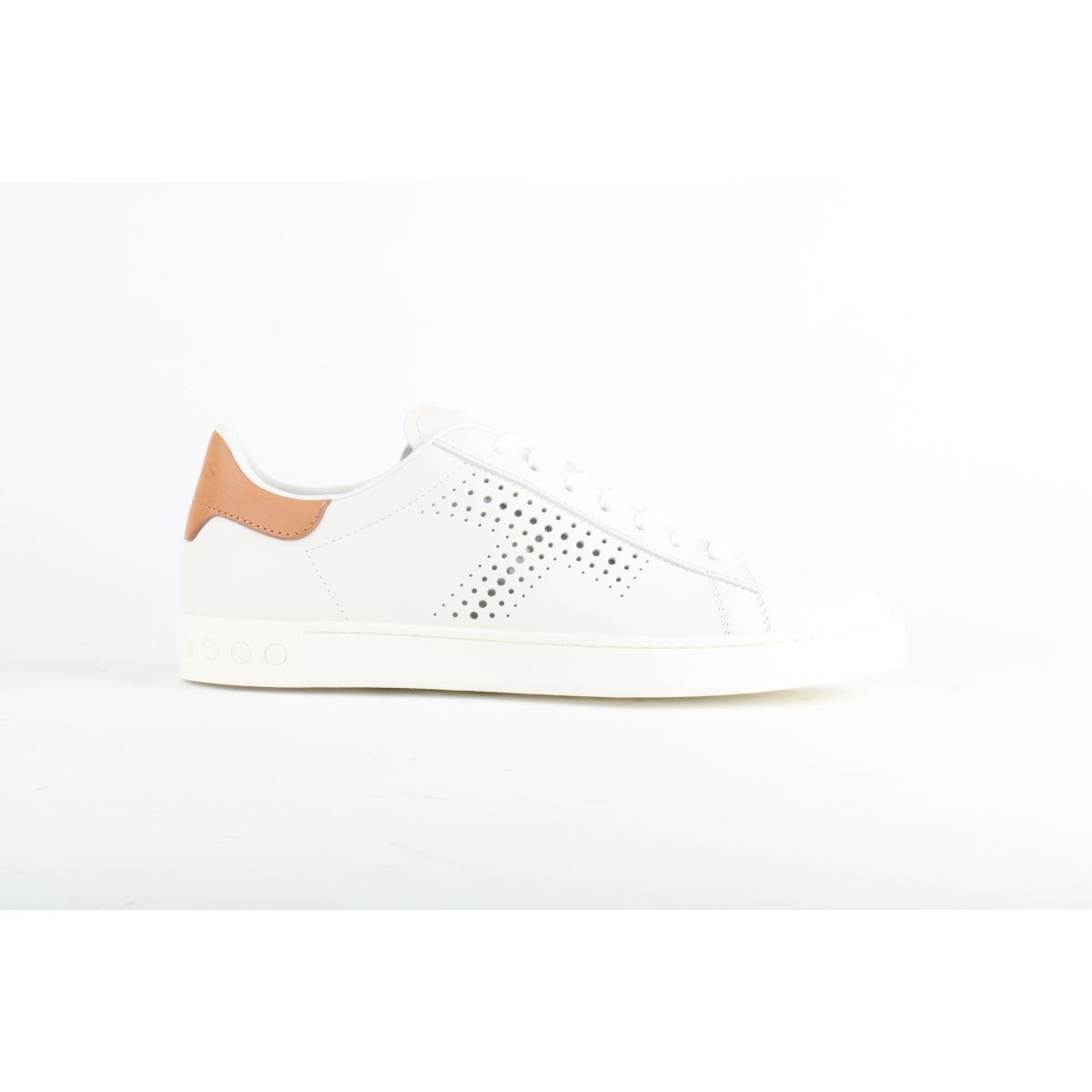 Witte Tod's Sneakers perforaties
