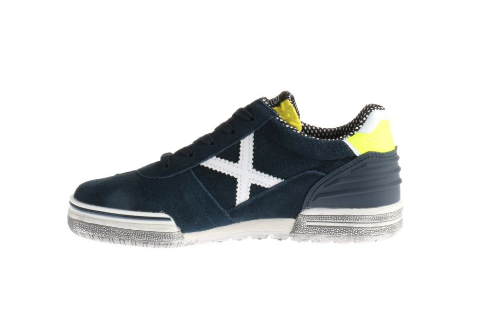 Munich 1510914 Sneakers Blauw Veters