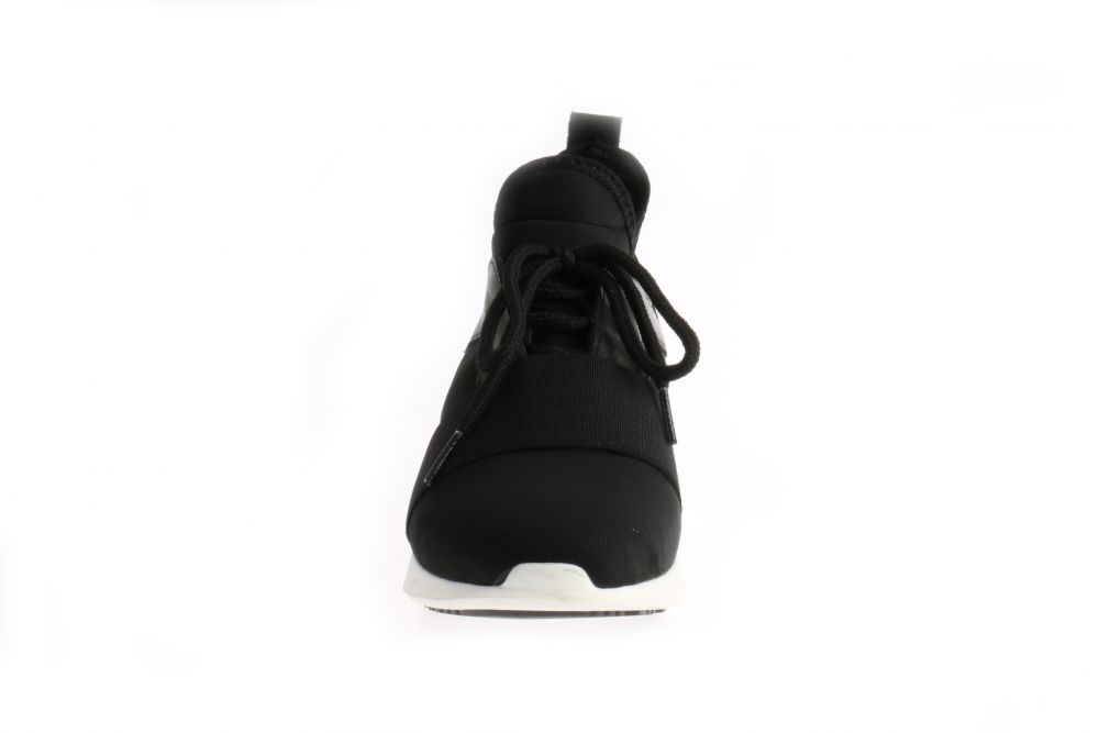 HIP D1491 Sneakers Zwart Nylon