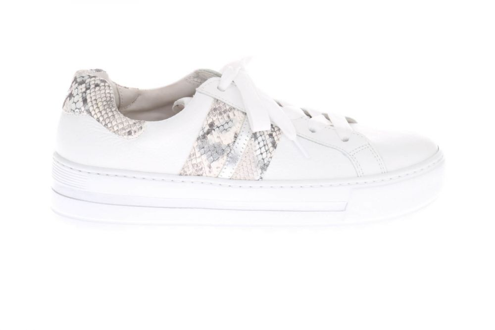 Gabor 4649552 Sneakers Wit Python