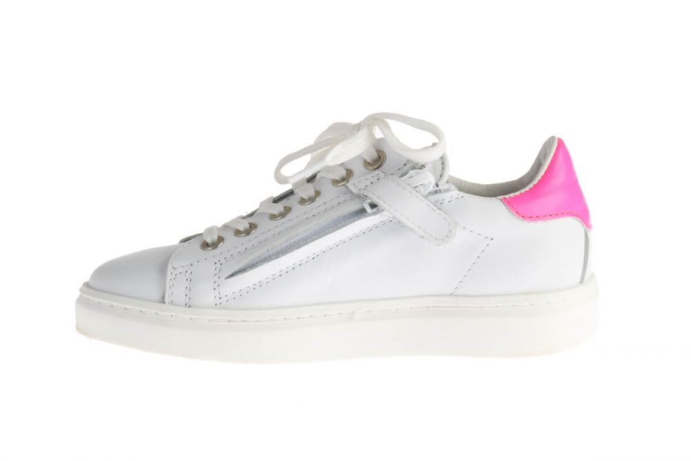 HIP H1108 Sneakers Wit/Roze