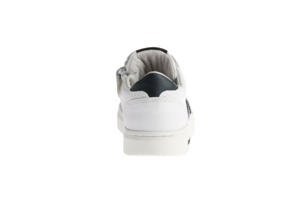 HIP H1750 Sneakers Wit Blauw