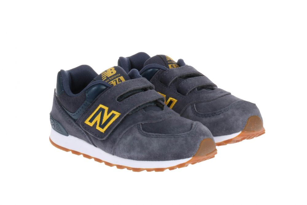 New Balance IV574 Sneakers Blauw