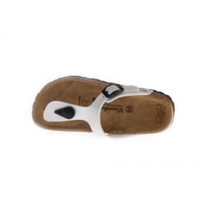 Zilveren Warmbat Slippers