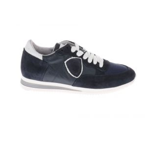 HIP H1795 Sneakers Blauw Wit