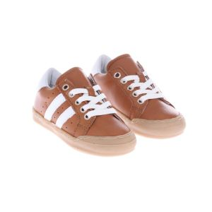 Pinocchio P1192 Sneakers Bruin Wit