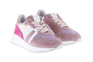 Pinocchio P1730 Sneakers Wit Roze