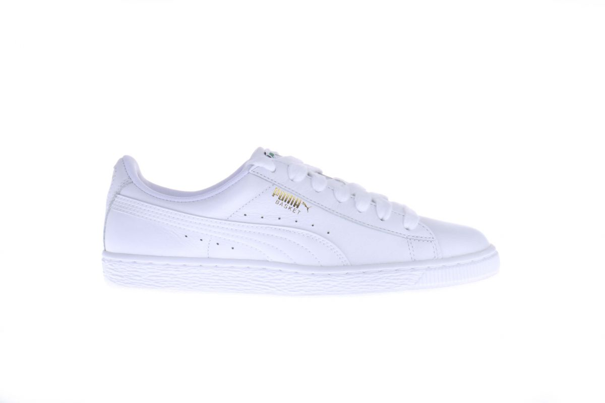 Witte Puma Basket Classic Sneakers