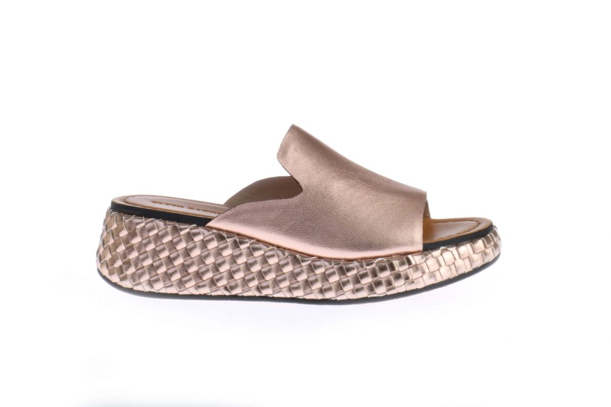 Metallic Roze Elvio Zanon Slippers