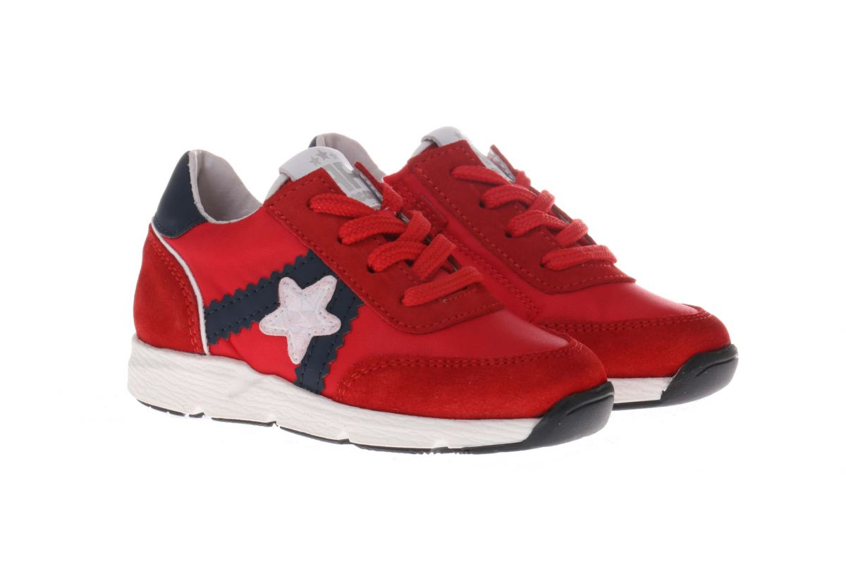 Pinocchio P1874 Sneakers Rood